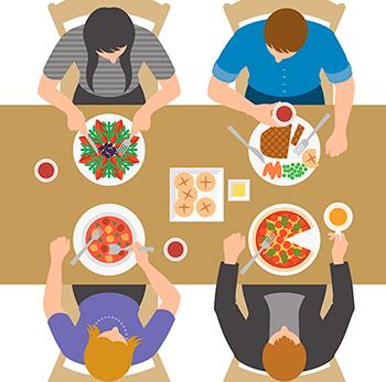 conheça os valores mínimos da alimentação e da refeição
