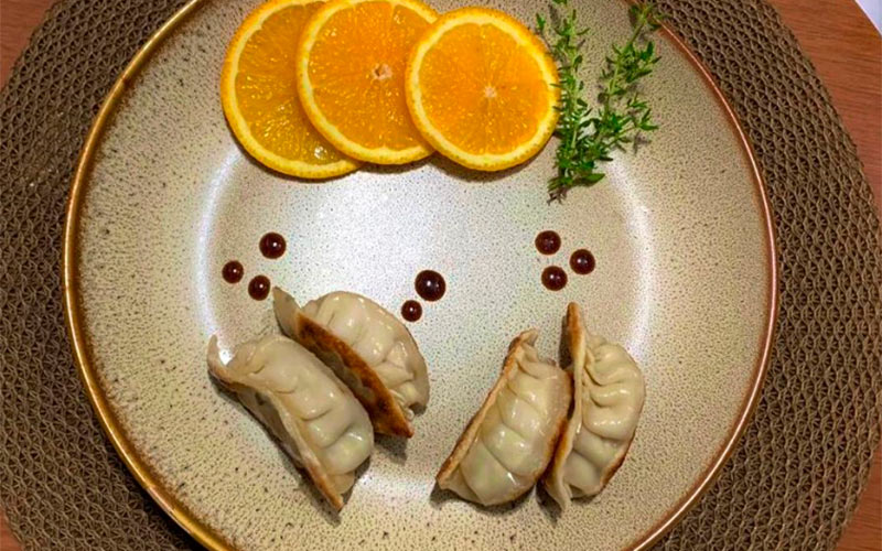 Receita de dumpling de tilápia do chef Daniel Massara