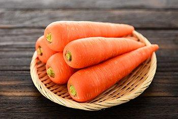 Cenoura: reforça o sistema imunológico e muito mais