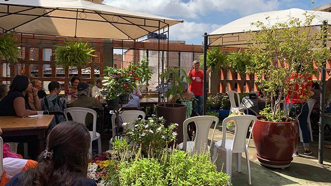 Comunidade de Paraisópolis aprende a plantar no projeto Horta na Laje