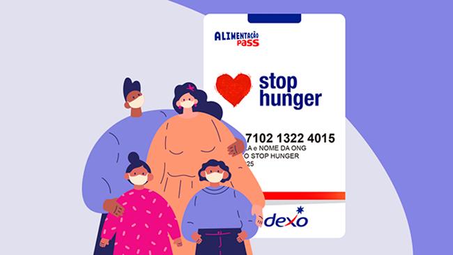 Doações em dobro em ação emergencial do Stop Hunger