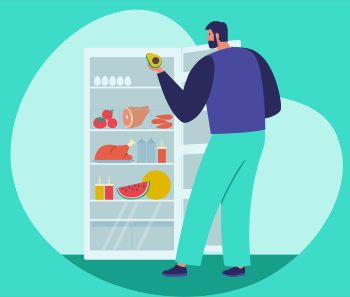 Dicas para armazenar alimentos na geladeira