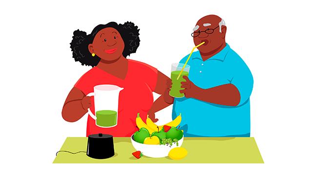 Como se alimentar bem para ter saúde durante toda a vida