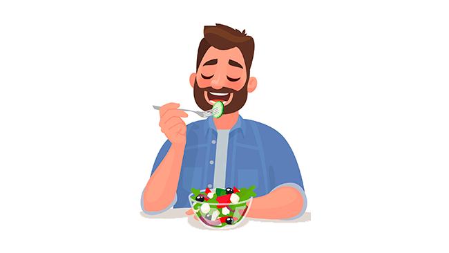 Quarentena - como comer de forma saudável