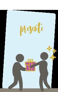 Dê um presente instantâneo usando o Gift Flex