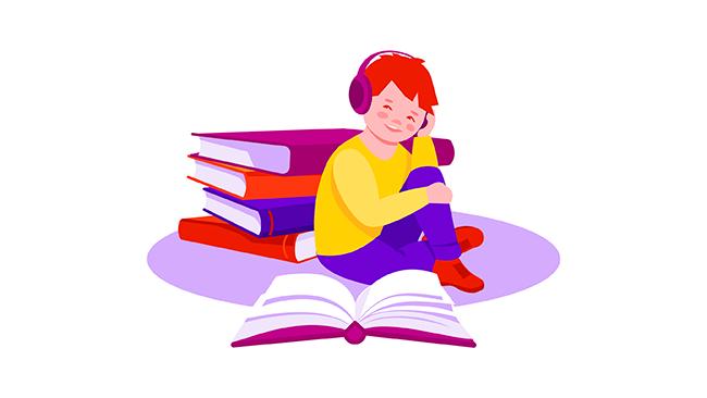 Dicas de livros infantis em áudio para crianças