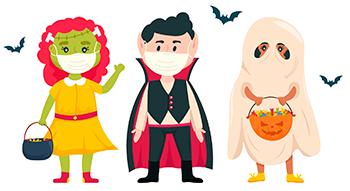 Halloween seguro em tempos de Covid-19