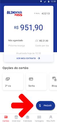 Como fazer o pagamento por aprovação usando o app sodexo