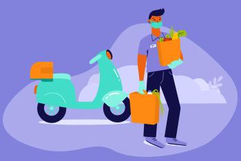 como pedir delivery de forma sustentável
