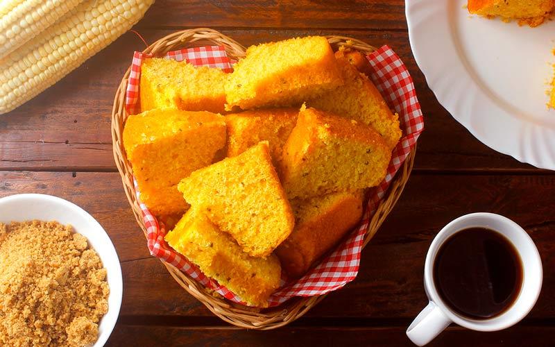 Receita de festa junina: bolo de milho