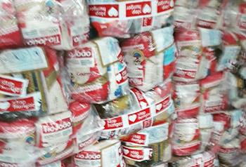 Comunidade de Paraisópolis recebe cestas básicas durante a pandemia