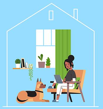 quais são os benefícios para home office